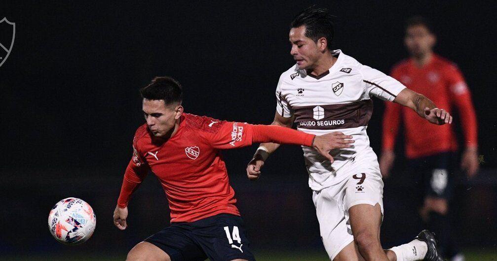 Independiente igualó en uno y recibió el primer gol del torneo.