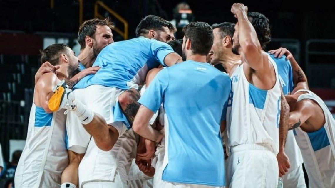 Argentina en los cuartos de final tras vencer a Japón en los Juegos Olímpicos Tokio 2020