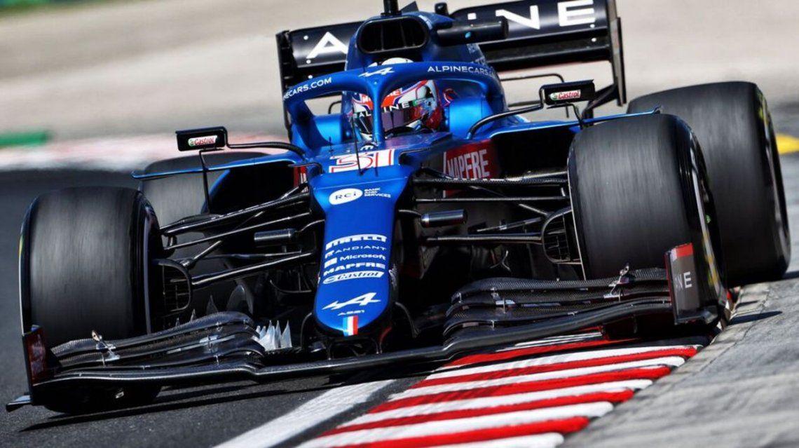 El francés Esteban Ocon gana EL Gran Premio de Hungría