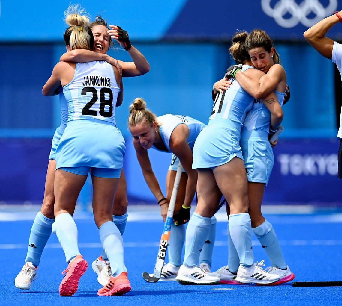 Juegos Olímpicos Tokio 2020: el triunfo de Las Leonas ante Alemania en imágenes
