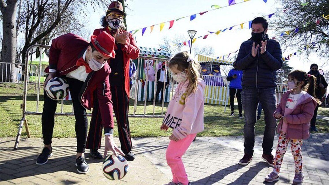 Actividades gratuitas en Malvinas Argentinas por el Mes de la Niñez.