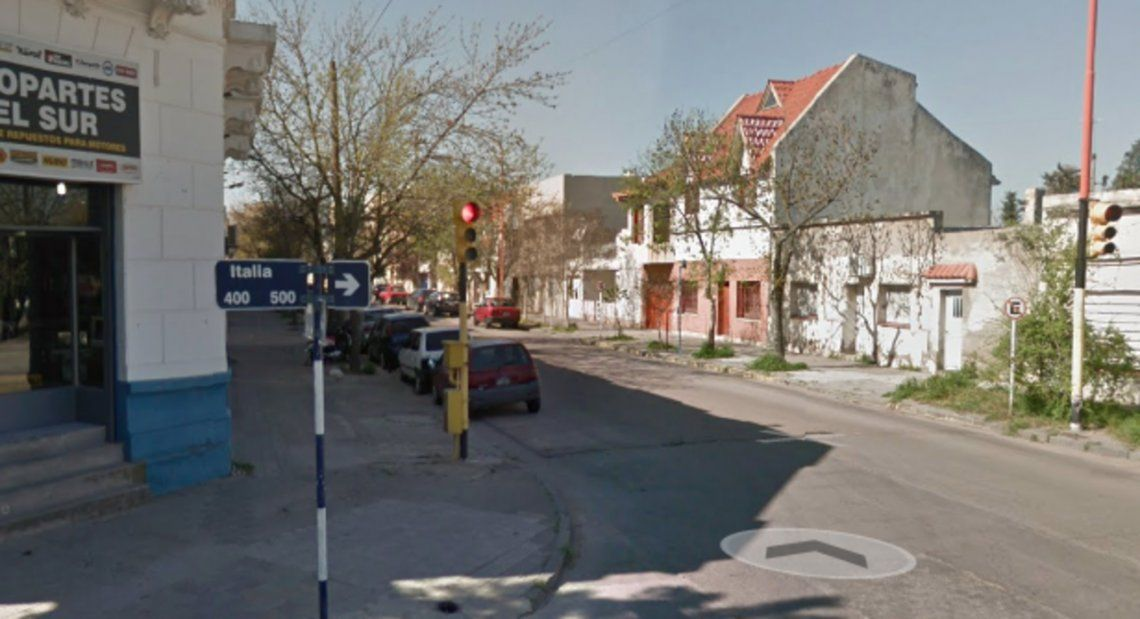 La fiesta clandestina ocurría en una casa ubicada en la calle Italia al 500 del barrio Pedro Pico.