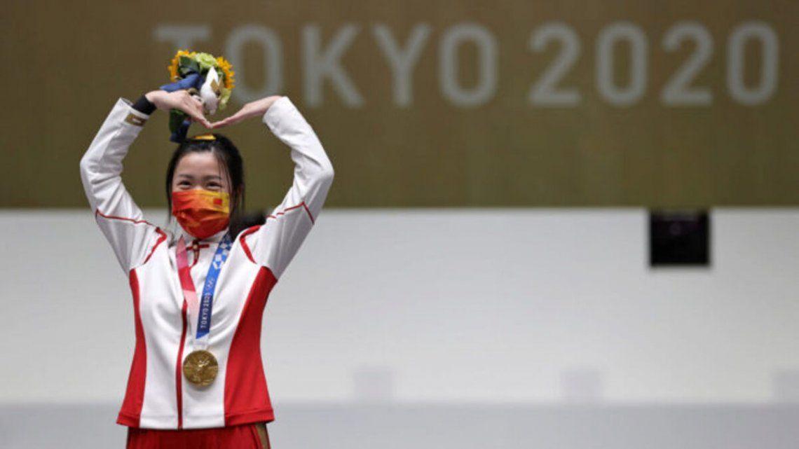 China es líder del medallero de Tokio 2020.
