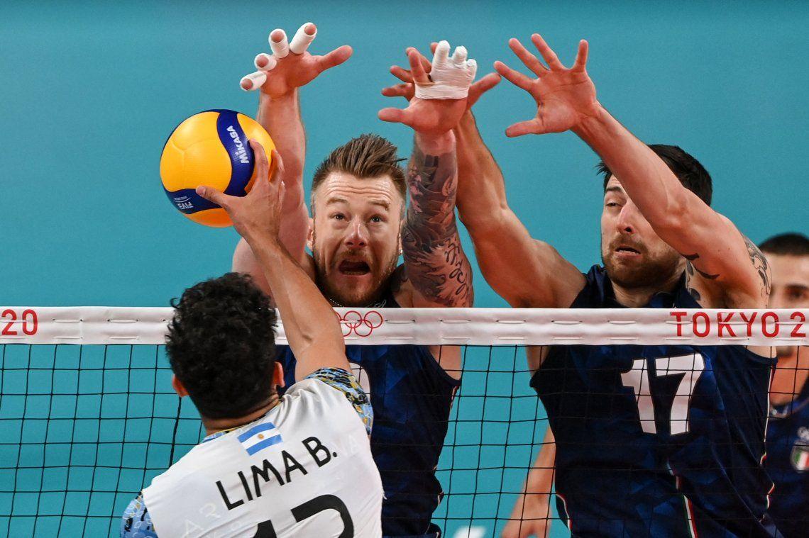 Juegos Olímpicos Tokio 2020: las mejores fotos del triunfo de Argentina ante Italia