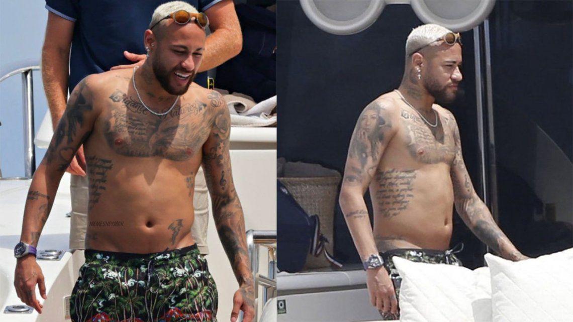 Neymar levanta críticas por estar pasado de peso.