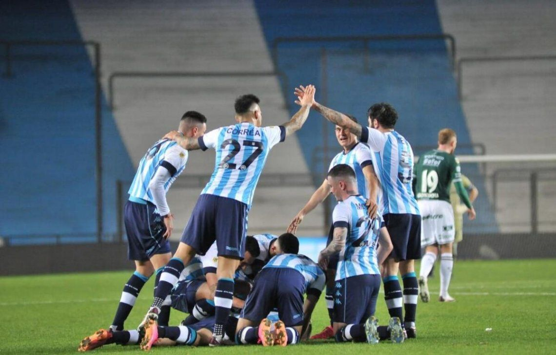 Racing ya piensa en el partido ante Independiente