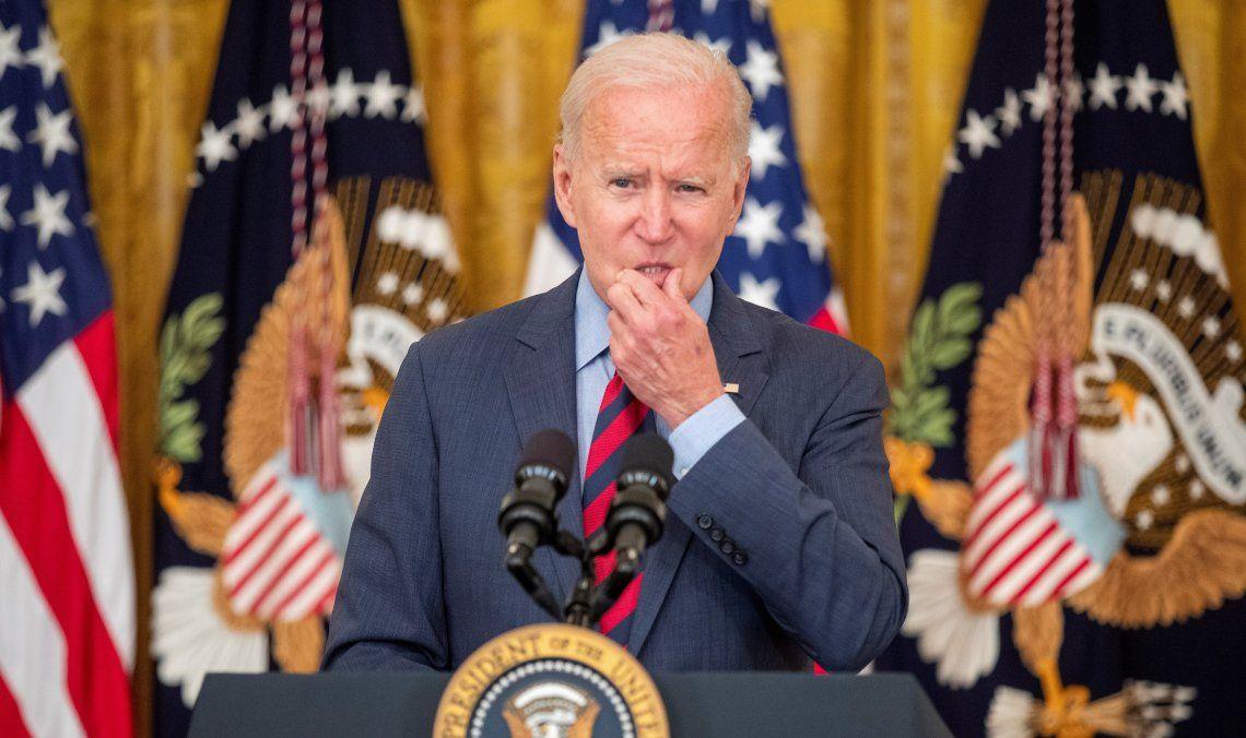 Joe Biden habló sobre el terrorismo internacional.
