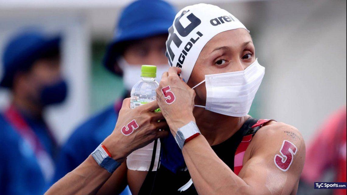 Cecilia Biagioli terminó en el puesto 12 en los Juegos Olímpicos.