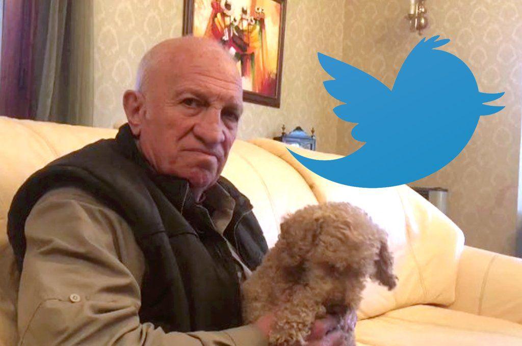 Aldo Rico debutó este martes en Twitter.