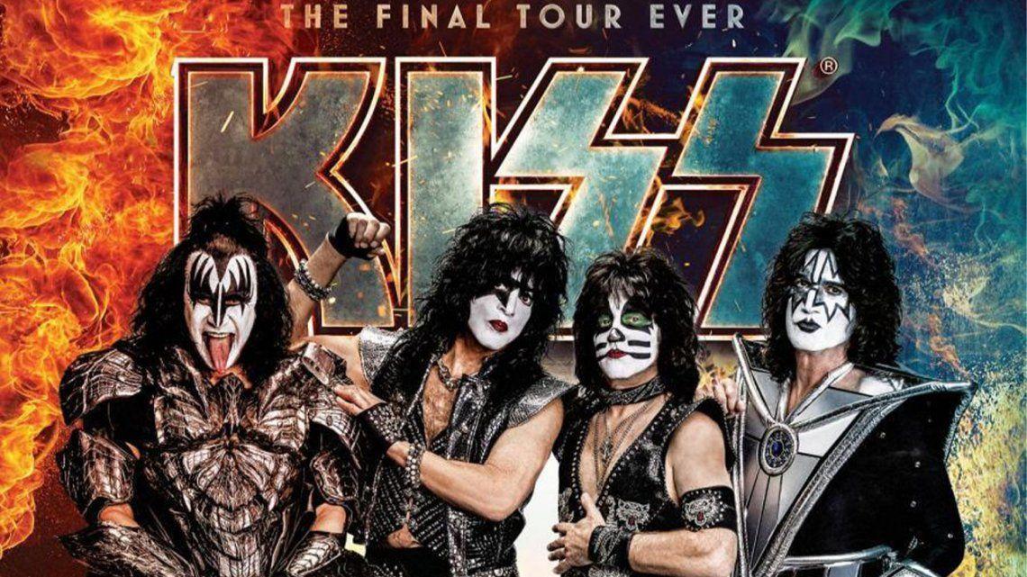 Kiss reprogramó su show despedida en Argentina.