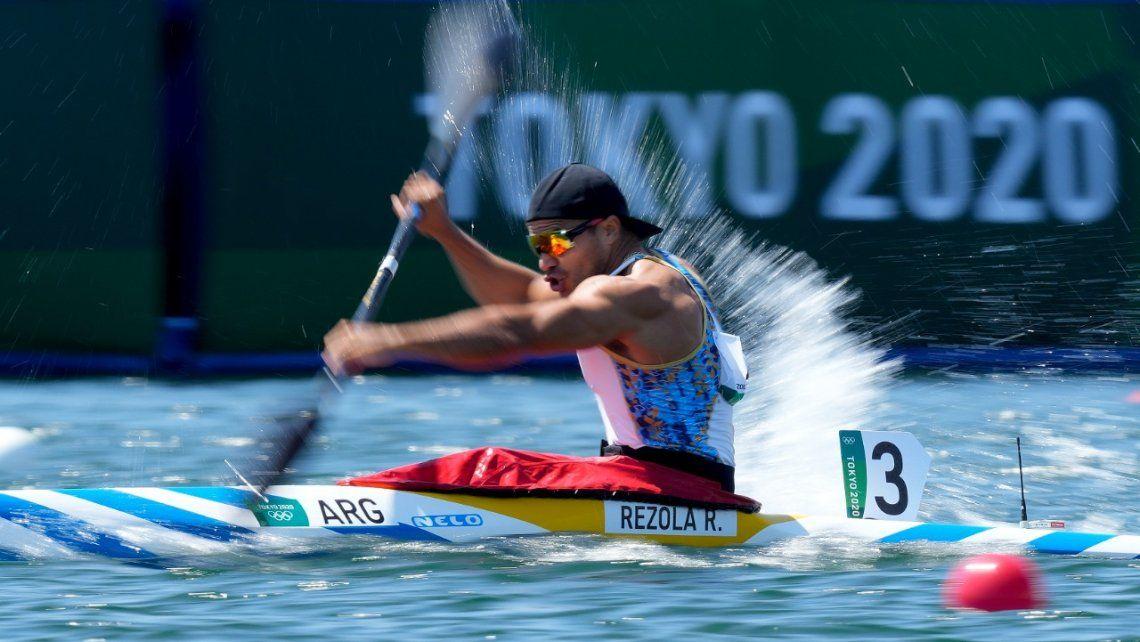 Rubén Rézola quedó al margen de la lucha por las medallas en los Juegos Olímpicos