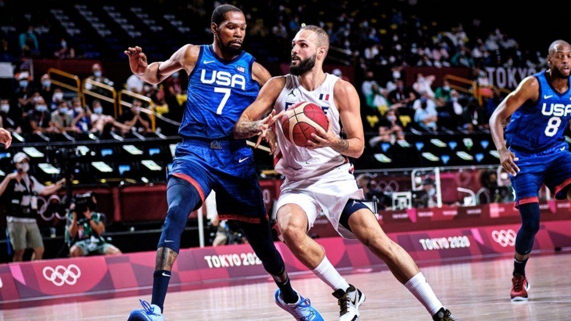 Juegos Olímpicos Tokio 2020: Estados Unidos y Francia definirán el oro en el básquet