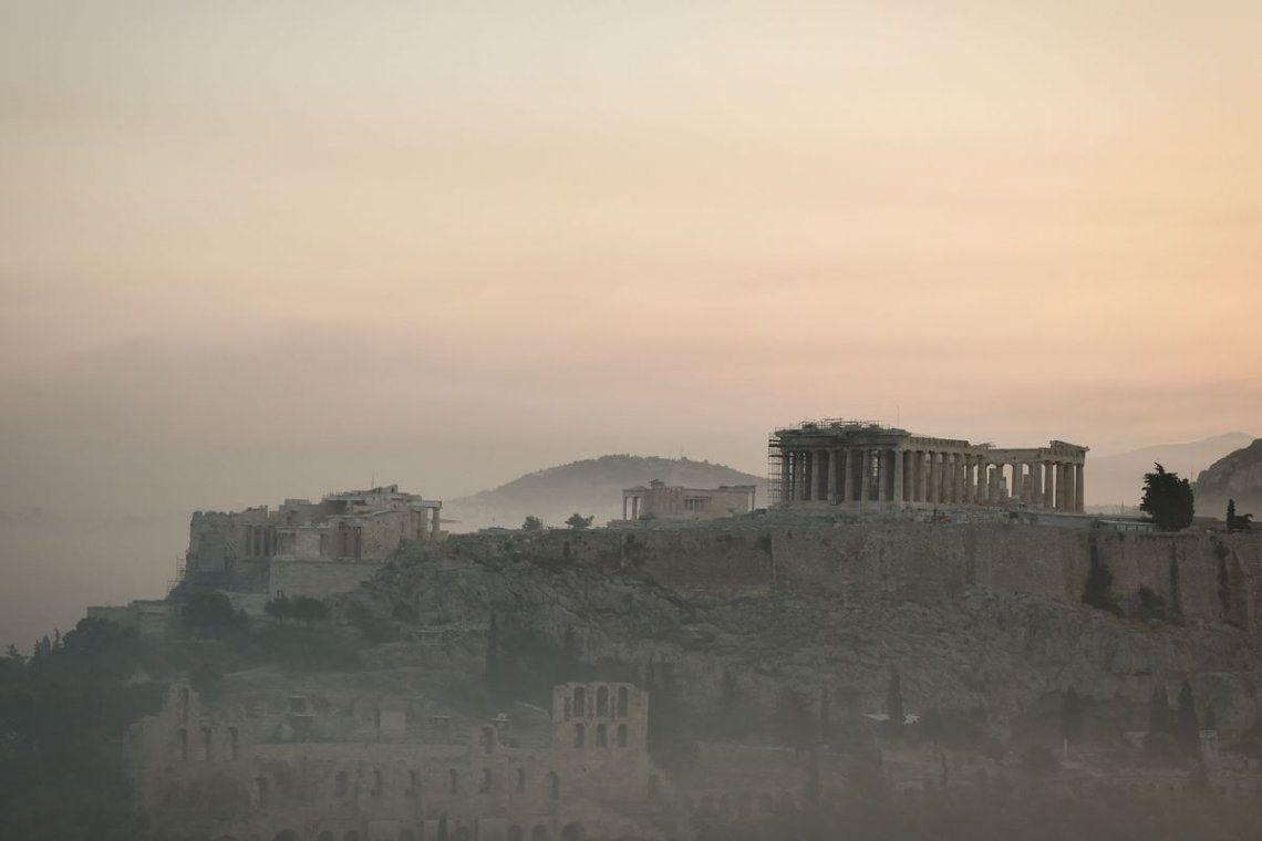 Grecia: incendios forestales amenazan las ruinas del Olimpo