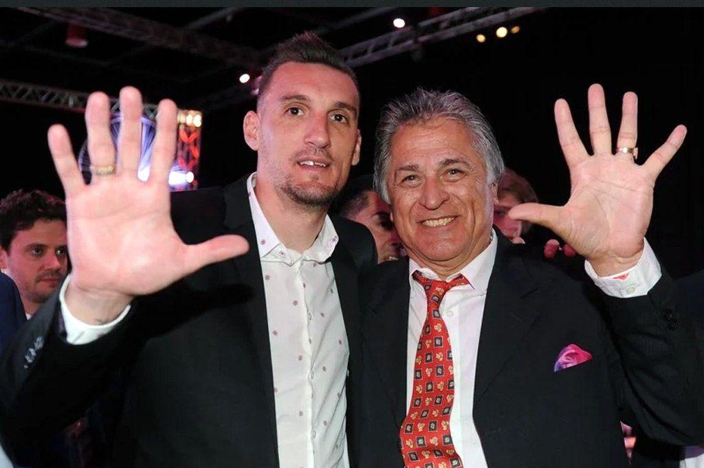 Franco Armani y Ubaldo Fillol