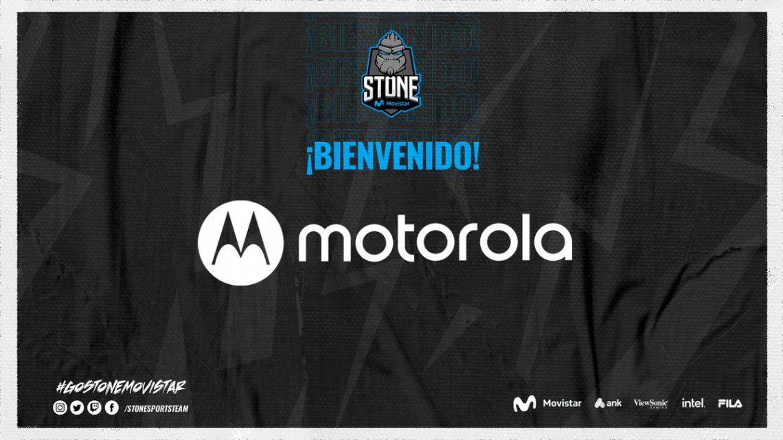 STONE Movistar presenta su primer equipo mobile de esports para la Free Fire League con el apoyo de Motorola