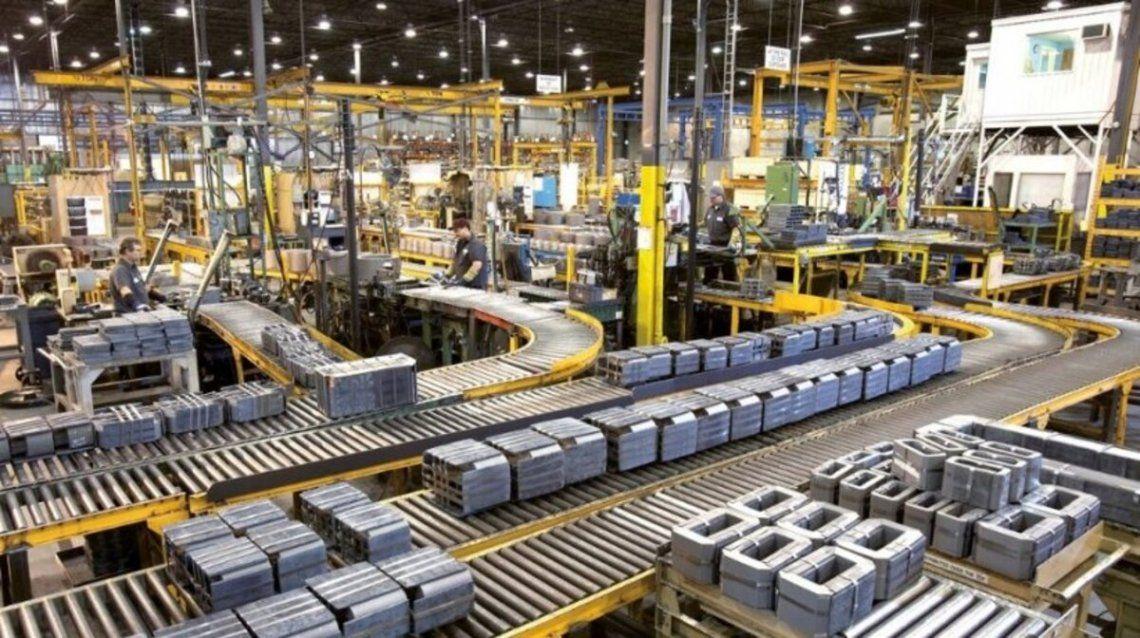 La actividad de la industria creció 19