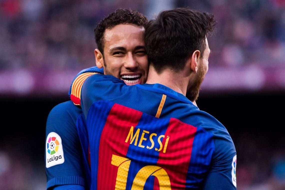Neymar y Messi quieren jugar juntos en el PSG