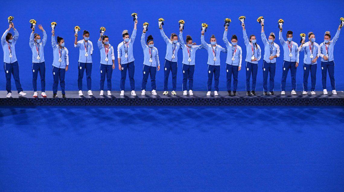 Juegos Olímpicos Tokio 2020: las mejores fotos del podio plateado de Las Leonas
