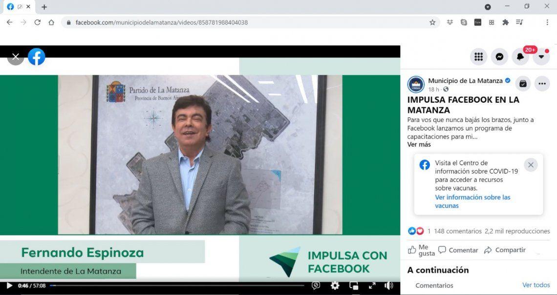 Impulsa con Facebook llega a La Matanza