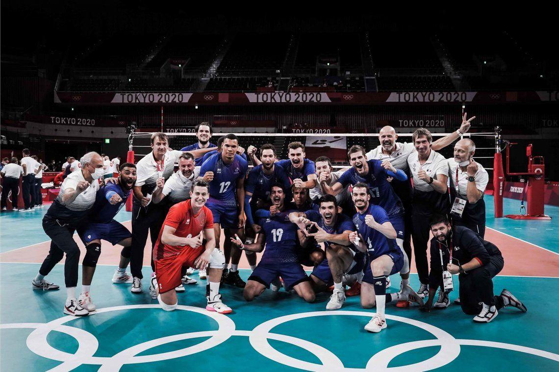 Juegos Olímpicos Tokio 2020: Francia hizo historia al ganar su primer oro en vóley