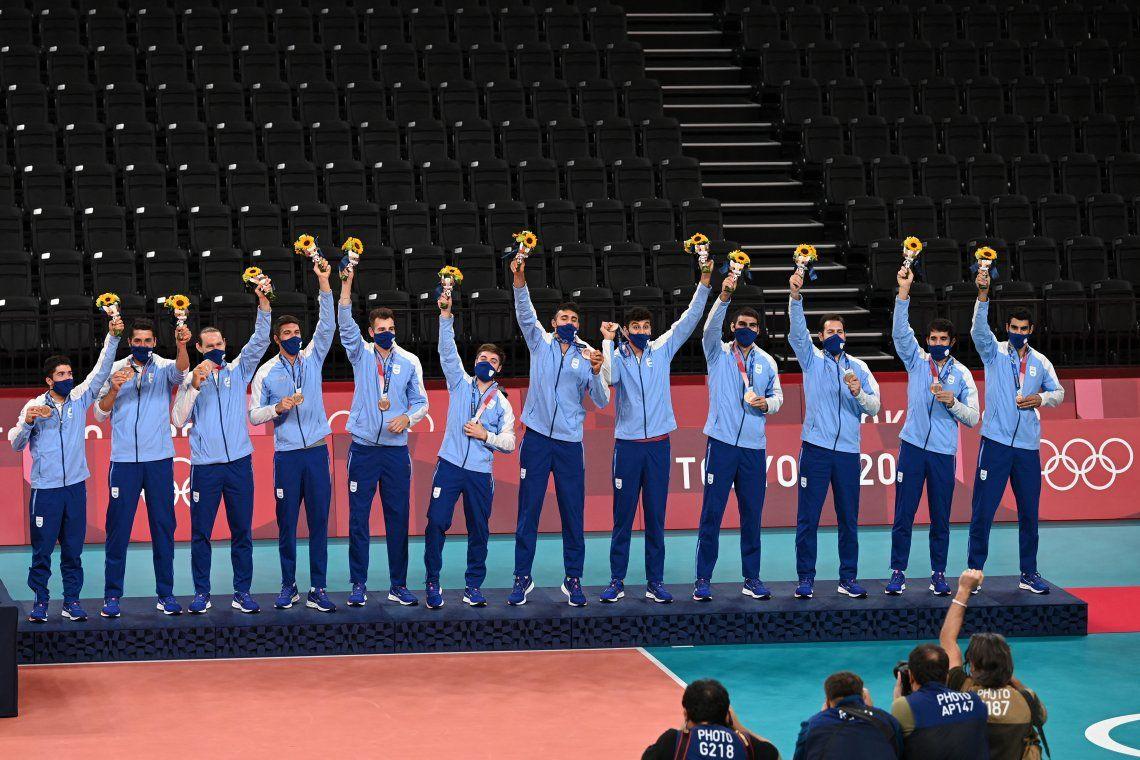 Juegos Olímpicos Tokio 2020: las mejores fotos del histórico bronce del vóley argentino