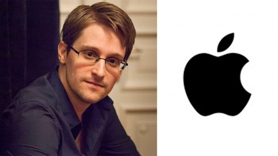 Snowden en contra del plan de Apple de escanear las fotos de los usuarios de iPhone.