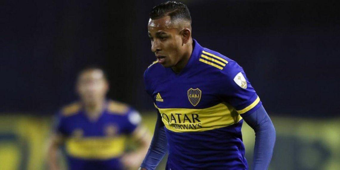 Sebastián Villa se fue a Colombia sin premiso de Boca