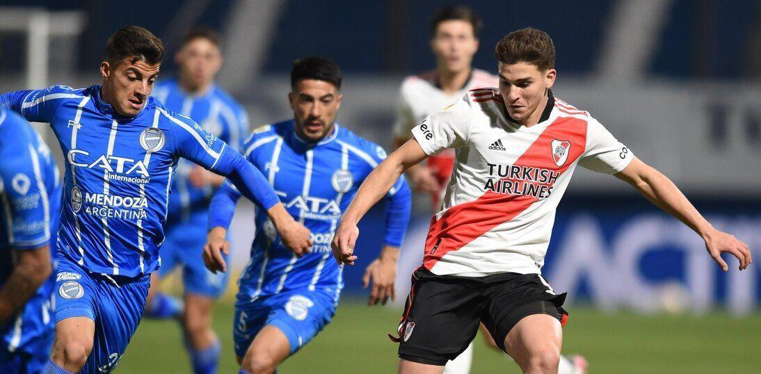River no pudo ante Godoy Cruz pese al buen gol del Araña.