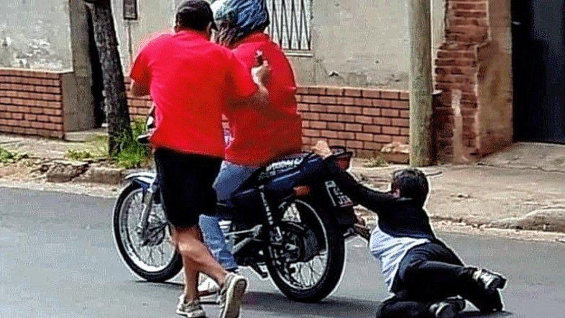 Los motochorros atacan 122 veces por día