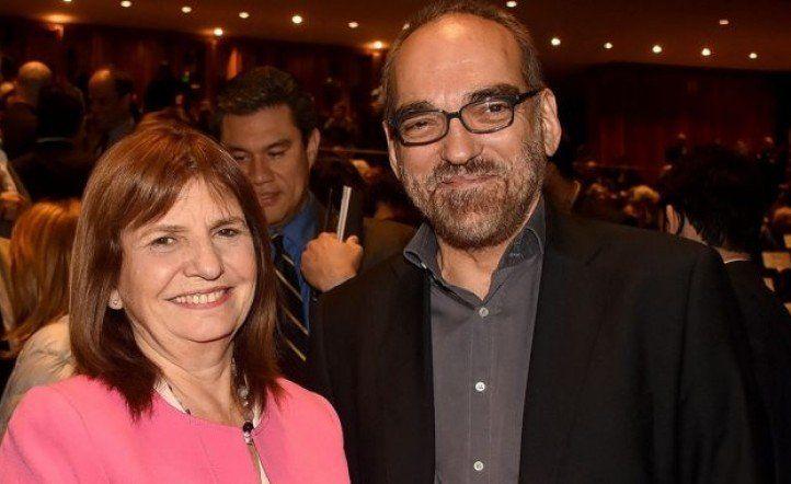 Patricia Bullrich y Fernando Iglesias