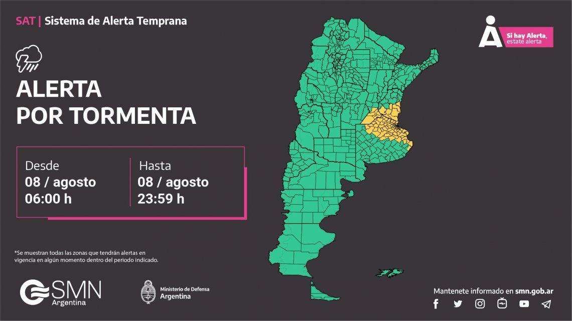 Se terminó la primavera en la ciudad de Buenos Aires y alrededores
