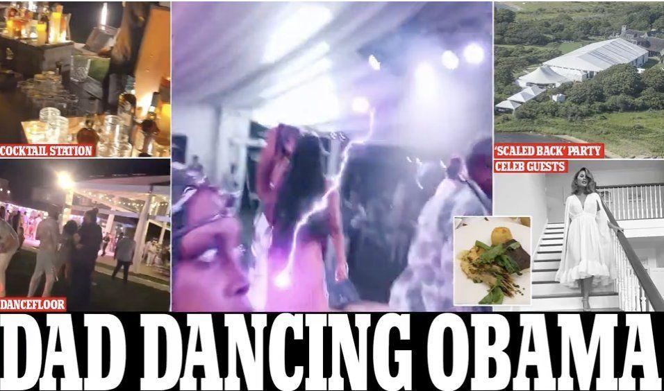 Fotos de la fiesta de cumpleaños número 60 de Barack Obama