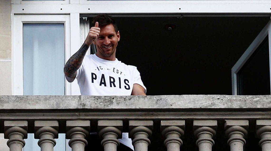 Lionel Messi conmocionó París