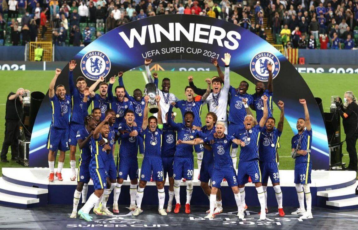 Chelsea ganó la final de la Supercopa europea.