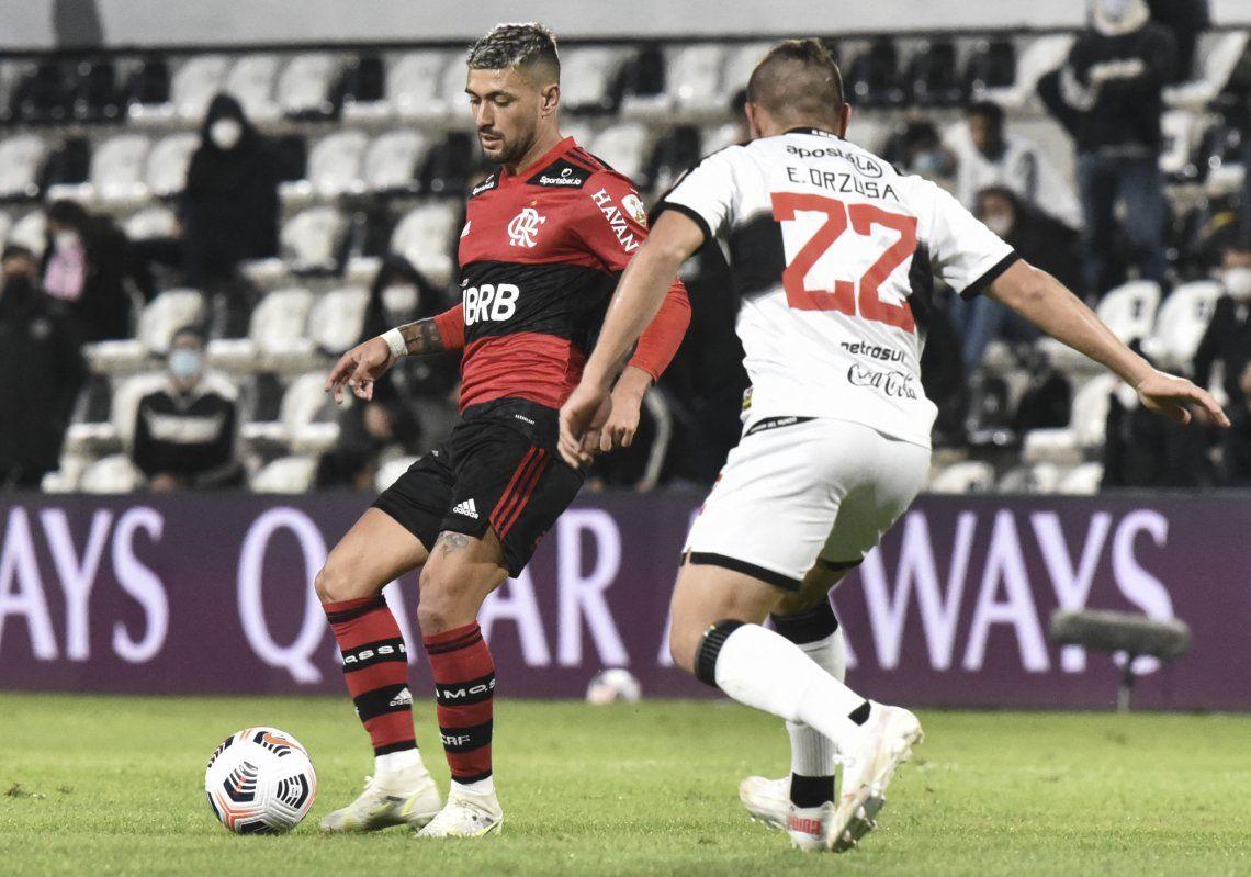 Flamengo goleó a Olimpia y está a centímetros de las semifinales de la Copa Libertadores