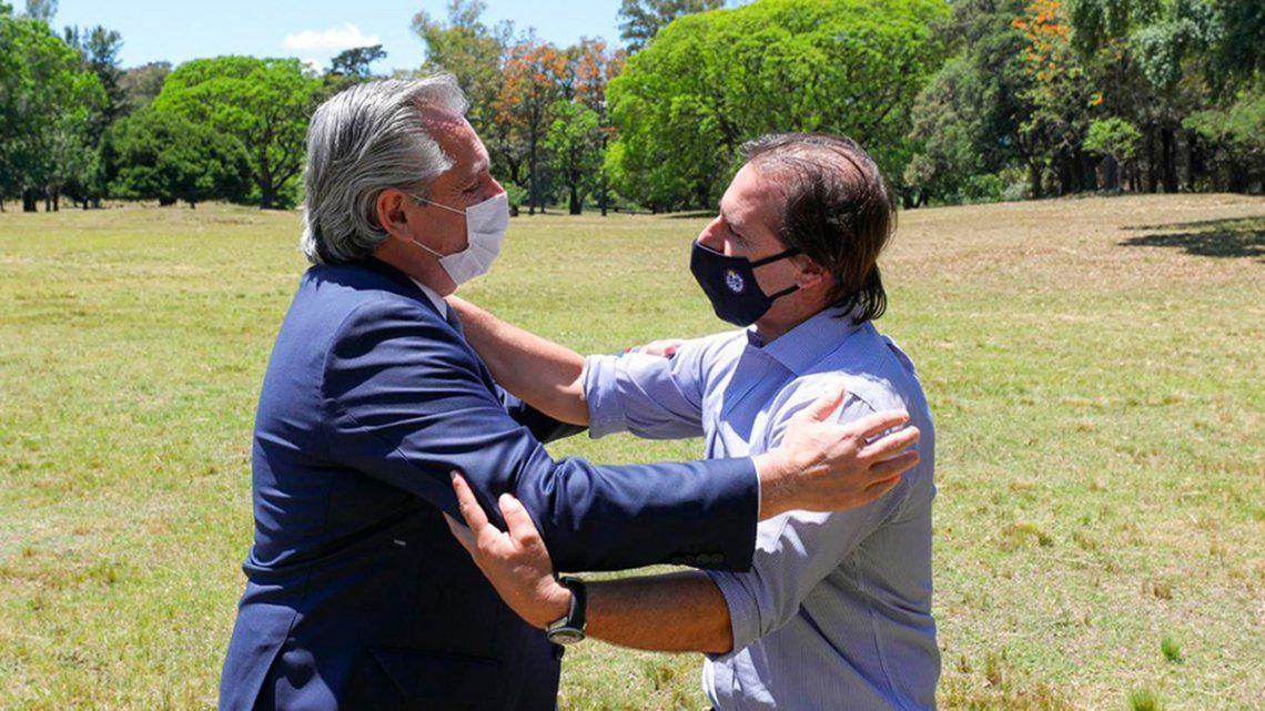 Fernández y Lacalle Pou ya habían mantenido un encuentro el 19 de noviembre del año pasado en la estancia presidencial La Anchorena