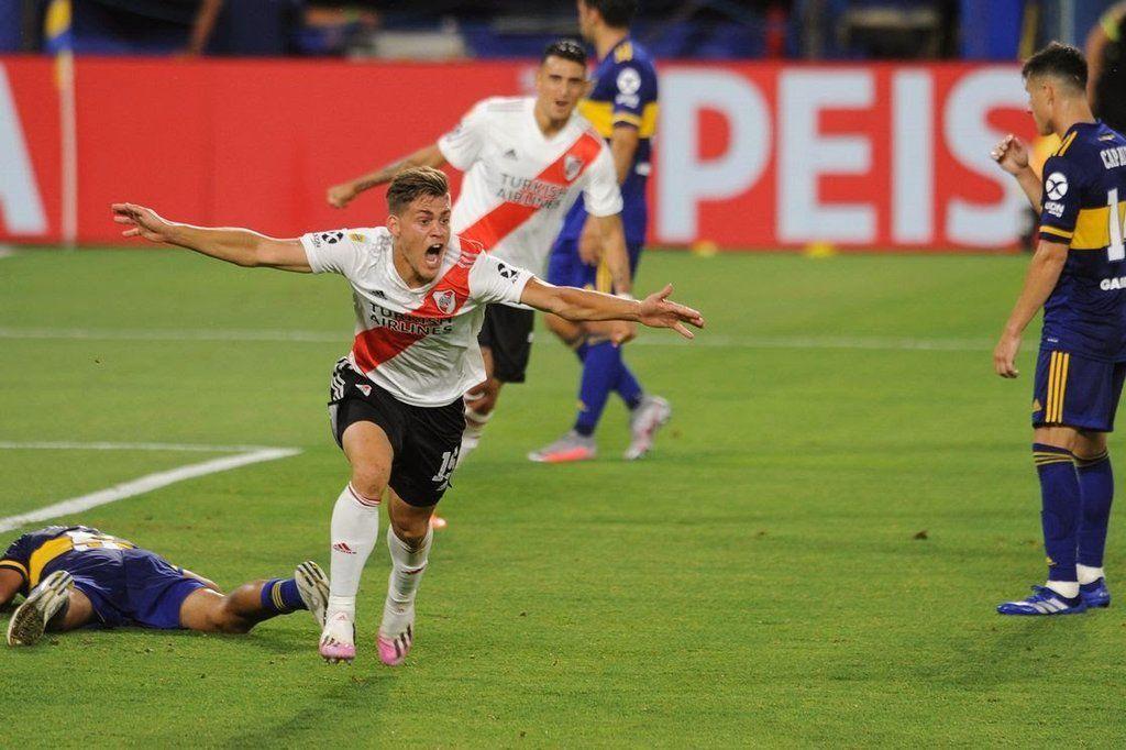 Federico Girotti sería titular en River frente a Vélez