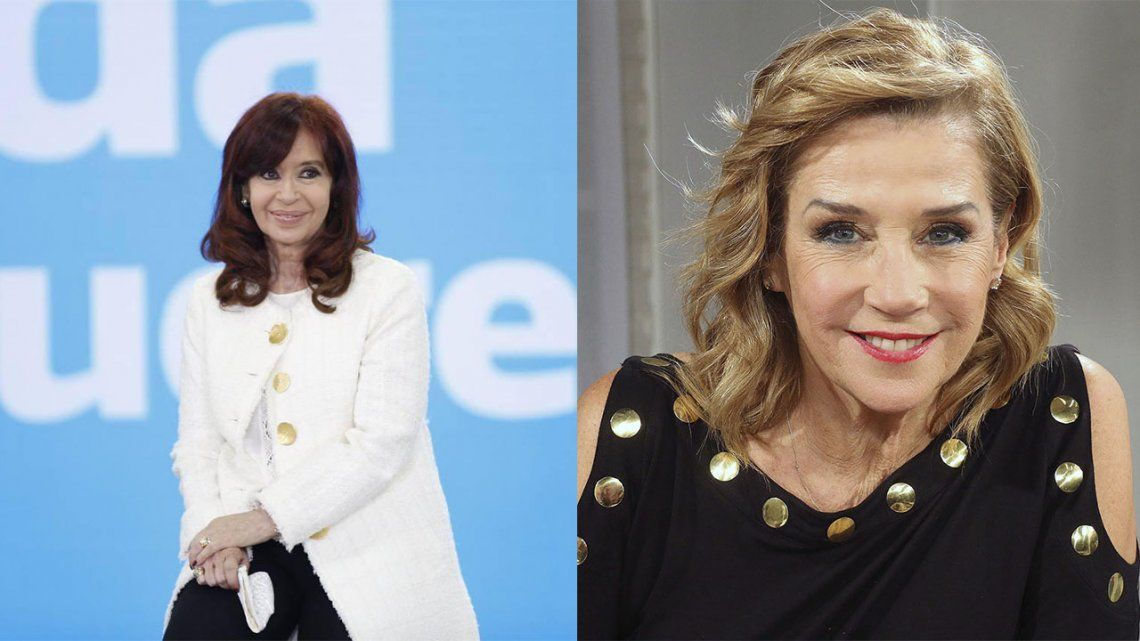 Cristina Kirchner a Marcela Tinayre: Esa mujer está sometida al bombardeo mediático.