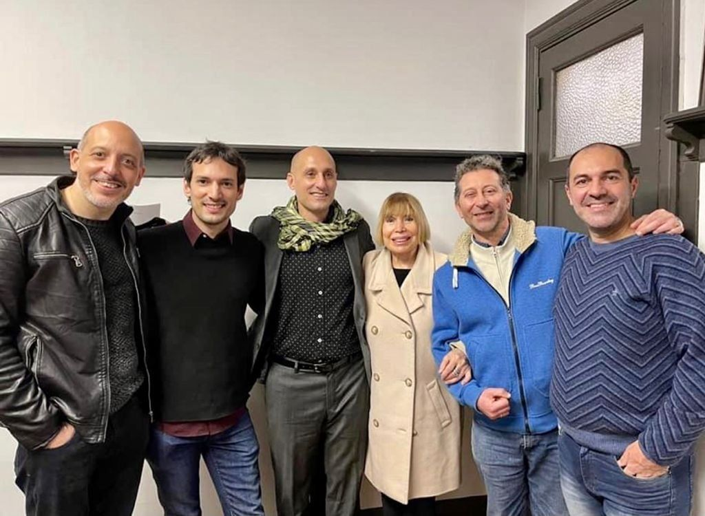 El Quinteto Revolucionario junto a Laura Escalada de la Fundación Piazzolla