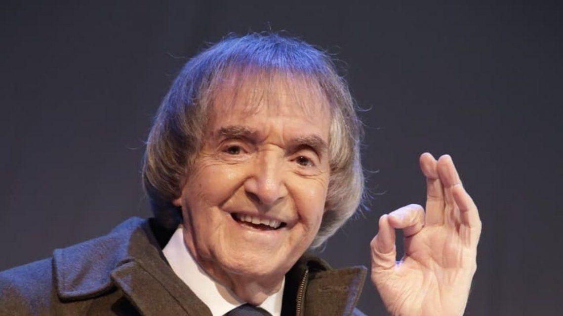 Carlitos Balá celebra sus 96 años