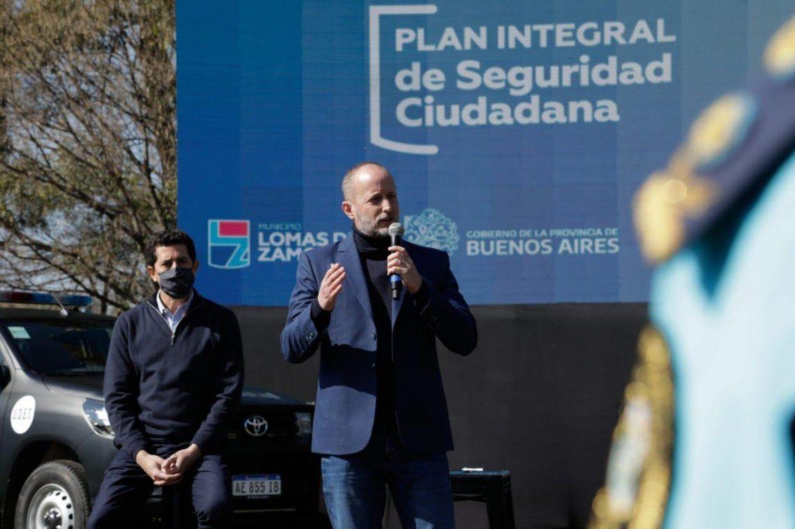 Presentaron 47 nuevos patrulleros en Lomas de Zamora