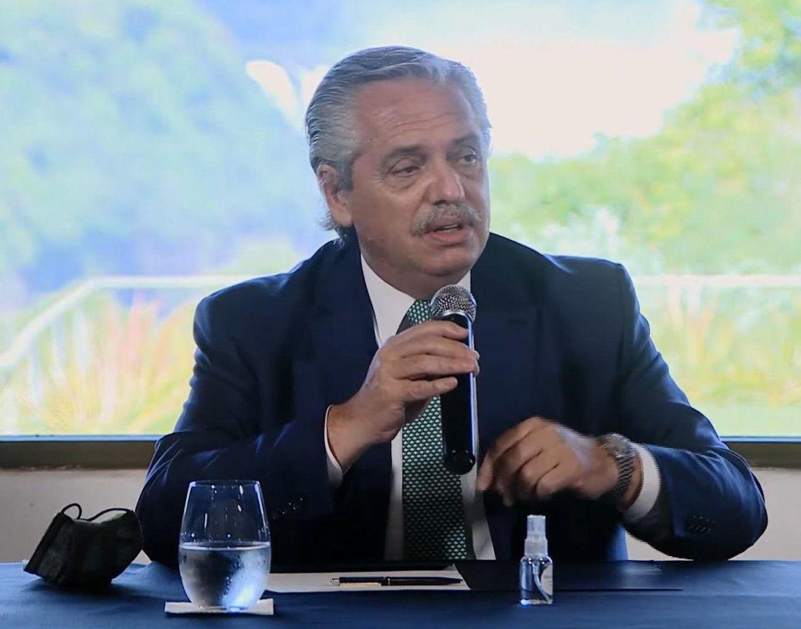 Alberto Fernández criticó a Brasil por la deforestación de la Amazonia