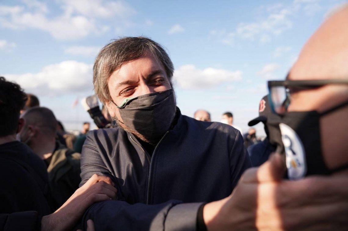 Máximo Kirchner habló de todo en Cañuelas y en especial arremetió contra Mauriciio Macri