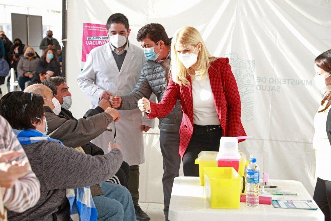 Fernando Espinoza destacó el avance de obras en el hospital Néstor Kirchner