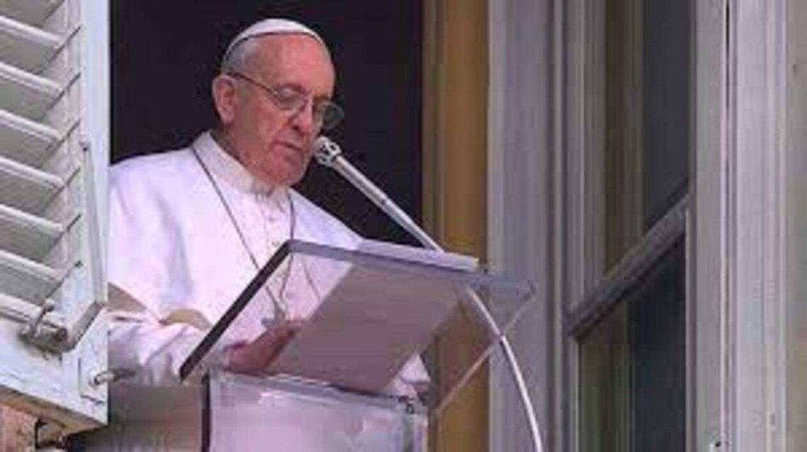 El Papa Francisco pidió ayuda para Haití