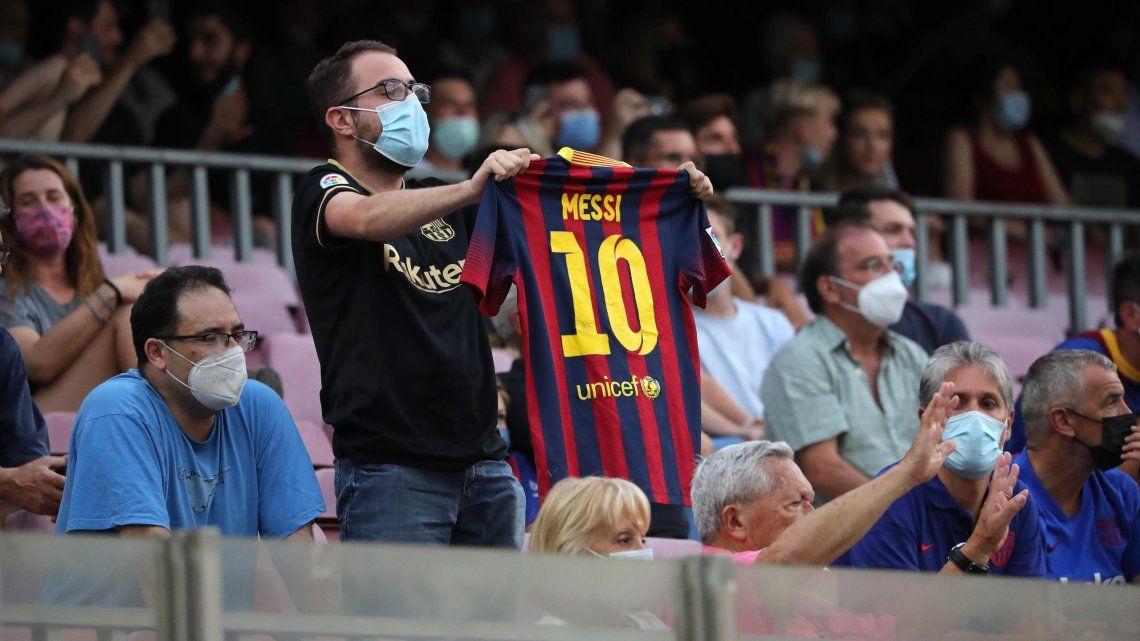 Barcelona reveló sin querer al posible heredero de la 10 de Messi