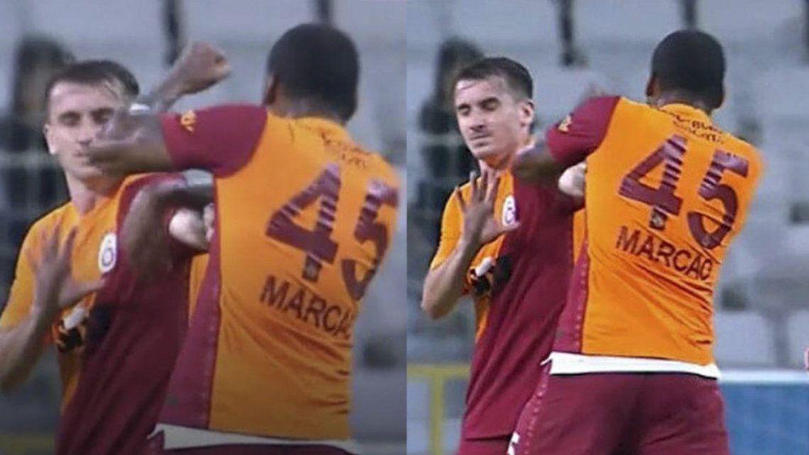 Turquía: expulsaron a un jugador por pegarle a su compañero.