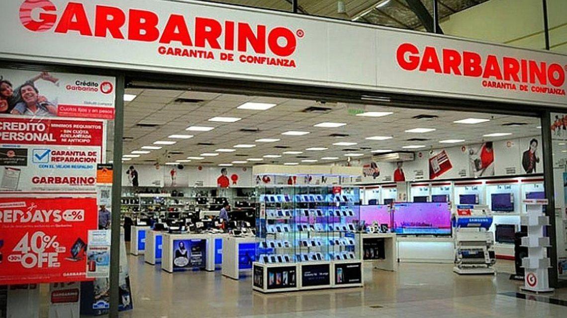 Garbarino recibió fondos para pagar salarios.