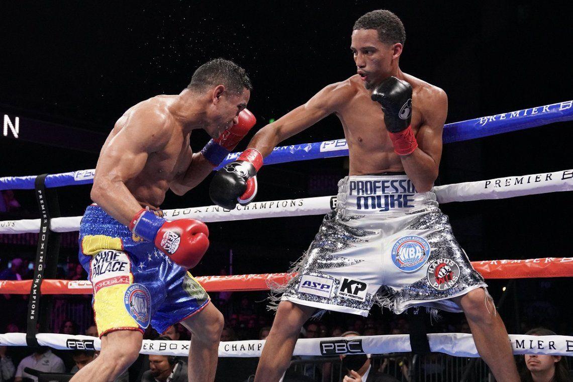 Boxeo: Gabriel Maestre venció por puntos en decisión unánime al estadounidense Mykal Fox La AMB anuló el fallo