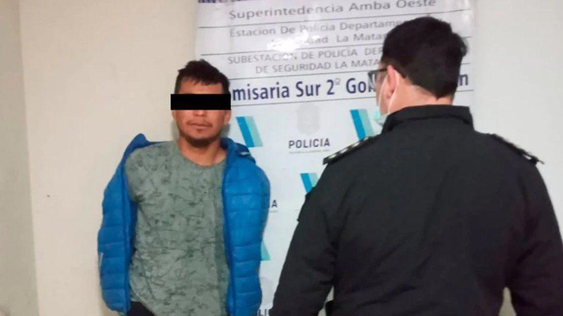 Detenido por la Policía.